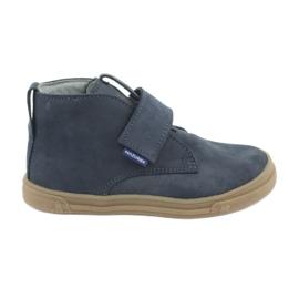 Velcro shoes Mazurek 106 navy blue