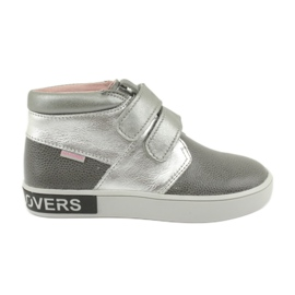 Mazurek FashionLovers gray-silver boots grey