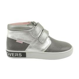 Mazurek grey FashionLovers gray-silver boots