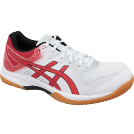 Asics Gel-Rocket 9 M 1071A030-101 volleyball shoes white white