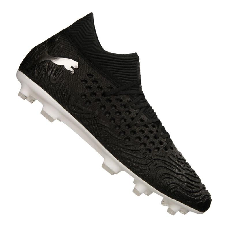 Puma Future 19.1 Netfit Fg / Ag M 105531 02 football boots black black