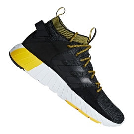Black Adidas Questarstrike Mid M G25773 shoes