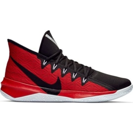 Nike Zoom Evidence Iii M AJ5904 001 shoes black and red black, red