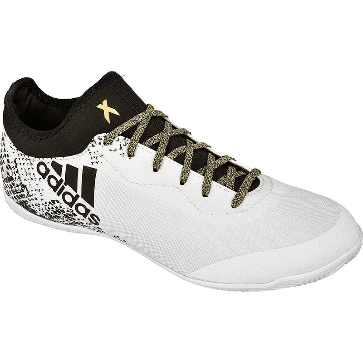 Folleto consumidor desierto  Adidas X 16.3 Court M In S79705 indoor shoes white white - ButyModne.pl