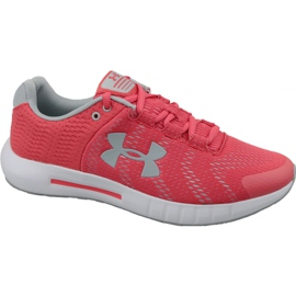 Under Armour red Under Armor Micro G Pursuit Bp W 3021969-600 running shoes
