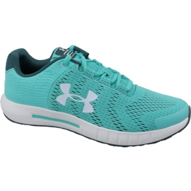 Under Armour blue Under Armor Pursuit Bp Jr 3022092-300 running shoes
