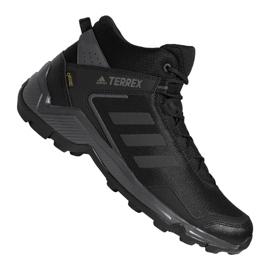 Black Adidas Terrex Eastrail Mid Gtx M F36760 shoes