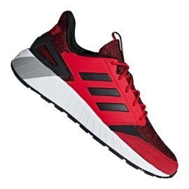 Red Adidas Questarstrike M G25772 shoes
