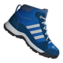 Blue Adidas Hyperhiker K Jr G27790 shoes