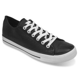 Sport Sneakers Leather Ydb Black