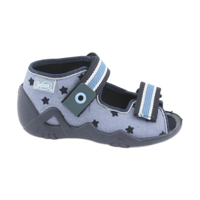 Befado blue children's shoes 250P079