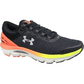 Under Armour black Under Armor Charged Intake 3 M 3021229-001 running shoes