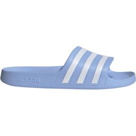 Blue Adidas Adilette Aqua W EE7346 slippers