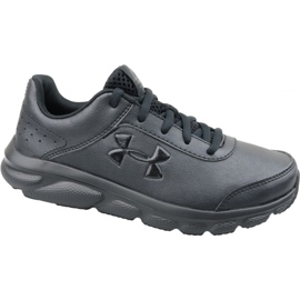 Under Armour Under Armor Gs Assert 8 Jr 3022697-001 running shoes black black