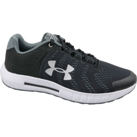 Under Armour black Under Armor Pursuit Bp Jr 3022092-001 running shoes