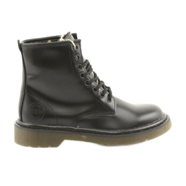 Black Big Star boots