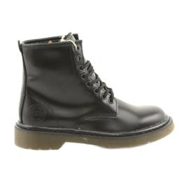 Black Big Star boots