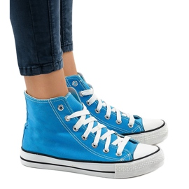 Blue classic high sneakers DTS8224-16