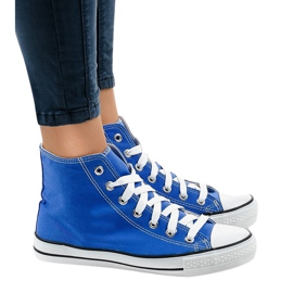 Blue classic high sneakers DTS8222-14