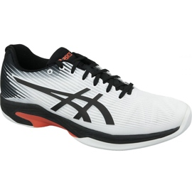 White Asics Solution Speed Ff Indoor M 1041A110-102 tennis shoes