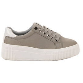 Kylie Sport Shoes On The Platform grey