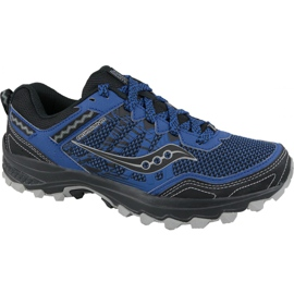 Navy Saucony Excursion Tr12 M S20451-3 running shoes