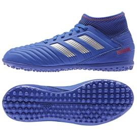Adidas Predator 19.3 Tf Jr CM8546 blue shoes