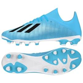 Adidas X 19.3 Mg M EF7549 blue shoes
