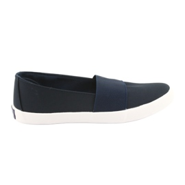 American Club women's sneakers navy blue