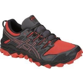 Red Asics Gel-FujiTrabuco 7 M G-TX M 1011A209-600 running shoes