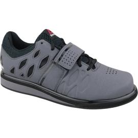 Grey Reebok Lifter Pr M BD2631 training shoes