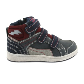 American Club ES27 high sneakers navy blue