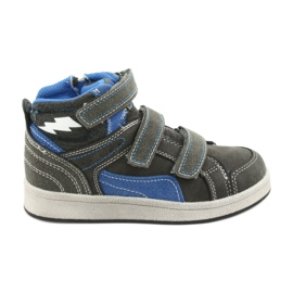 Grey American Club ES27 gray high sneakers