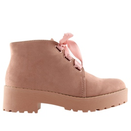 Boots for women pink LL219 Pink