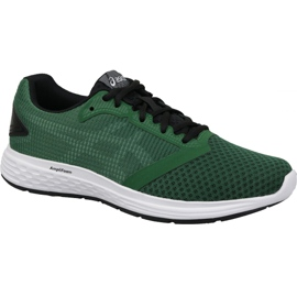 Green Asics Patriot 10 M 1011A131-300 running shoes
