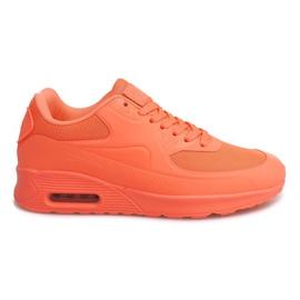 DN9-16 Orange running shoes