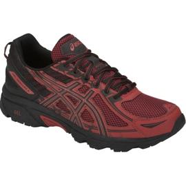 Red Asics Gel-Venture 6 M T7G1N-800 running shoes