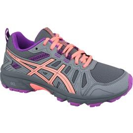Grey Asics Gel-Venture 7 Gs Jr 1014A072-020 running shoes