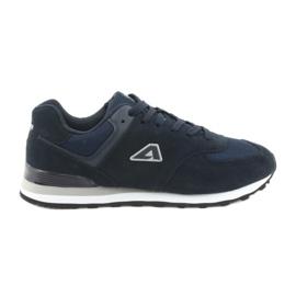 Navy American Club sports shoes jogging HA27