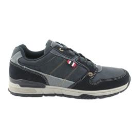 American Club AA08 navy blue sneakers