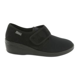 Black Befado women's shoes pu 033D002