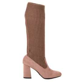 Seastar Fitted Brown Boots