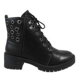 Black women's sneakers G157-1