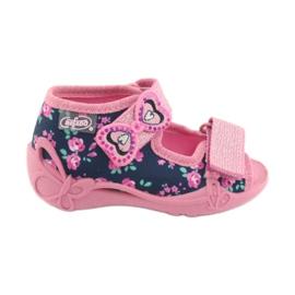 Befado yellow children's footwear 242P094