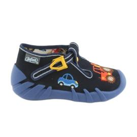 Navy Befado children's shoes 110P347