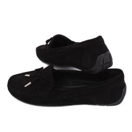 Black Women's loafers R812 Black