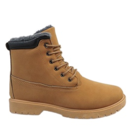 Brown Camel insulated hiking boots 7M500B