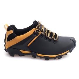 Trekking Boots Leather Nat HLD911 Black