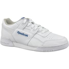 White Reebok Classic Workout Plus M 2759 shoes