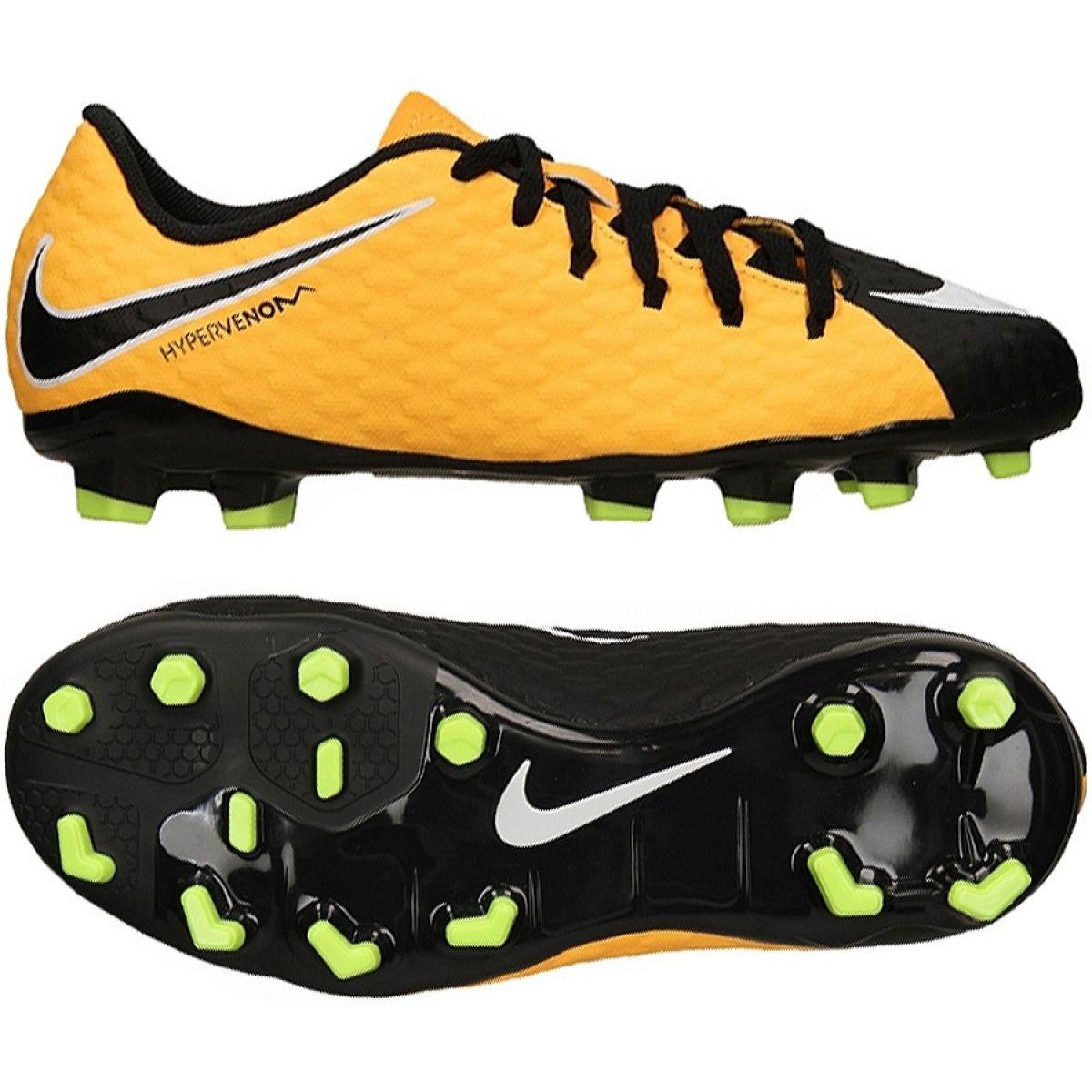 super popular 9ac46 08f07 Nike Hypervenom Phelon Iii Fg Jr 852595 801 yellow shoes
